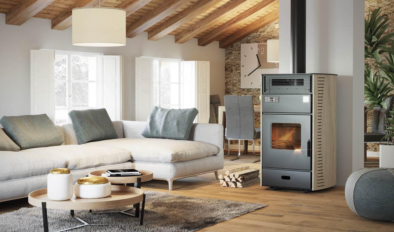 Plurifire-termostufa-policombustibile